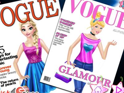 Princesses On Vogue Cover