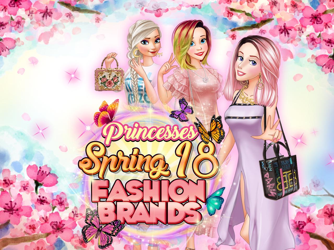 Princesses Spring 18 Fashion Brands