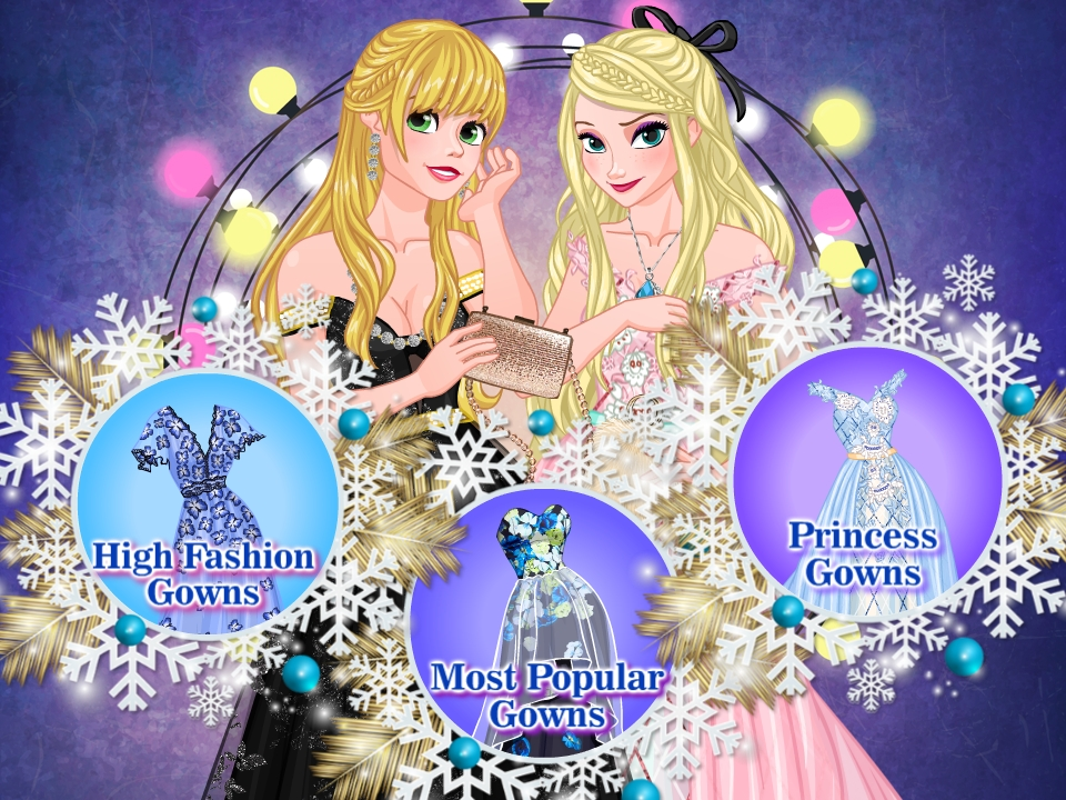 Princesses Winter Ball Gowns Collection