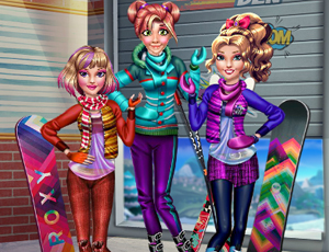 Princesses Winter Holiday