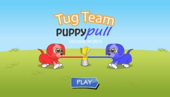 Puppy Pull Decimals