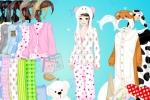 Pyjama Party Girl Dressup