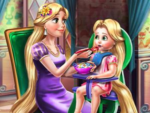 Rapunzel Mommy Toddler Feed