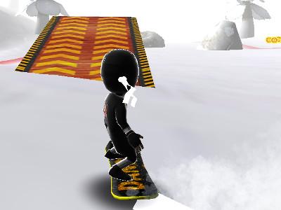 Real Snowboard Endless Runner