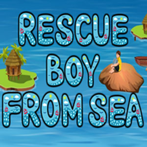 Rescue boy from sea