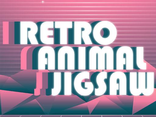 Retro Animal Jigsaw