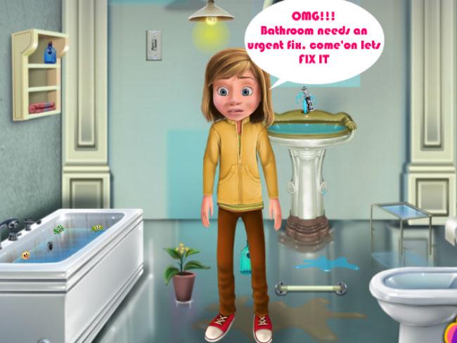 Riley Bathroom Cleaning