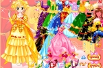 Royal Colors Of Princess Dresses
