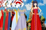 Russian Folk Fashion Dress Up