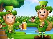 Saint Patrick's Day Sliding Puzzles