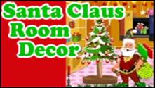 Santa Claus Room Decor
