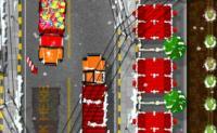 Santa Truck Parking