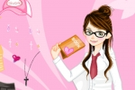School Book Dressup