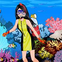 Scuba diving dress up