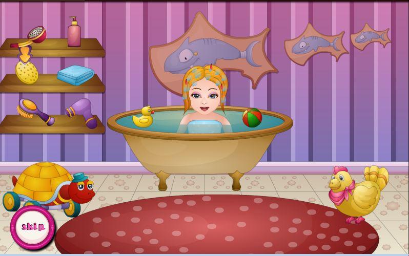 Sena Birthday Bathing