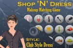 Shop 'n Dress Makeup Matching Club Style Dress