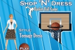 Shop N Dress Basket Ball Teenage Dress