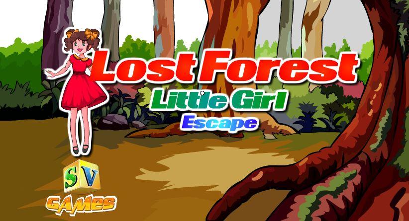 Sivi Games Lost Forest Little Girl Escap