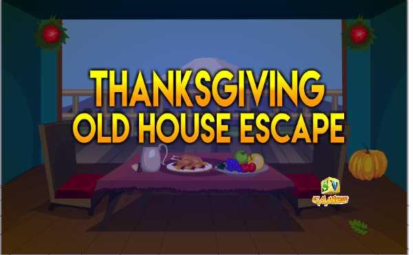Sivi Thanksgiving Old House Escape