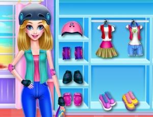 Skater Girl Dressup
