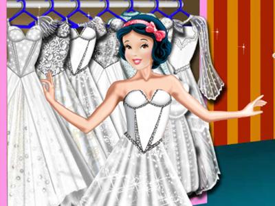Snow White Wedding Shop
