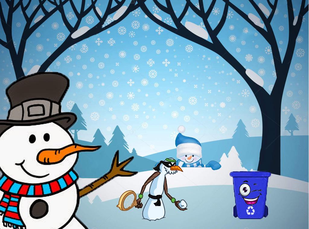 Snowy te ayuda a reciclar