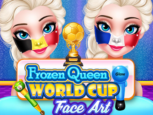 SOCCER WORLDCUP 2018 FACE ART