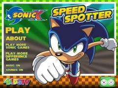 Sonic Speed Spotter