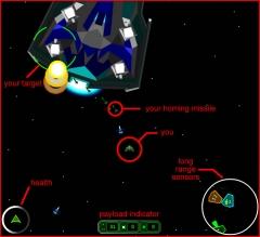 Space Combat Simulation: TE 001