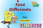 Spongebob Find Differents