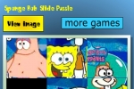 Spongebob Slide Puzzle