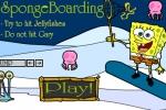 SpongeBob Spongeboarding