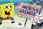 SpongeBob Squarepants Anchovy Assault