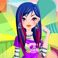 Spooky Monster High Girl