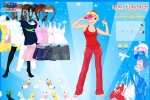 Sporty Style Girl Dressup