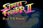 Street Fighter II - Ryu vs Sagat