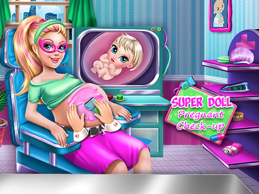 Super Doll Pregnant Check Up