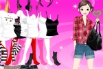 Sweet Heart Girl Dressup