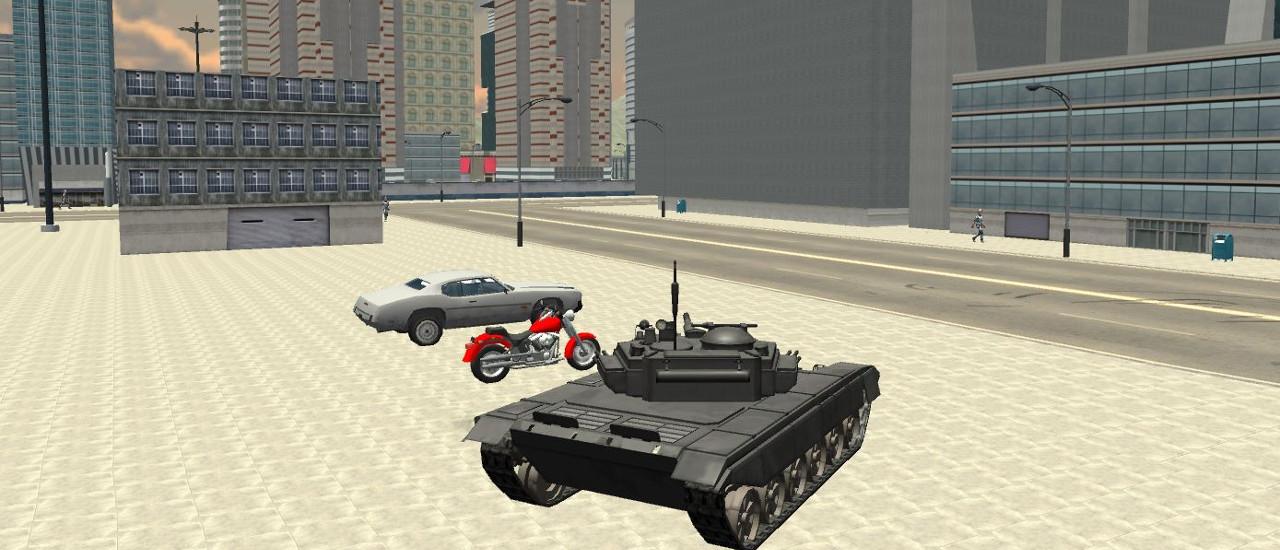 Tank Driver Simulator