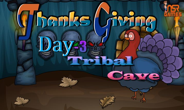Thanksgiving Day Forest Cave