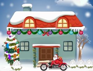 The Christmas santas