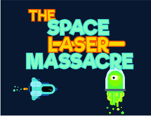 The laser space massacre
