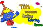 Tom Terrific Online Coloring