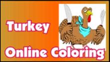 Turkey Online Coloring