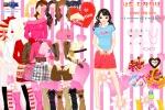 Valentine Girl Dressup