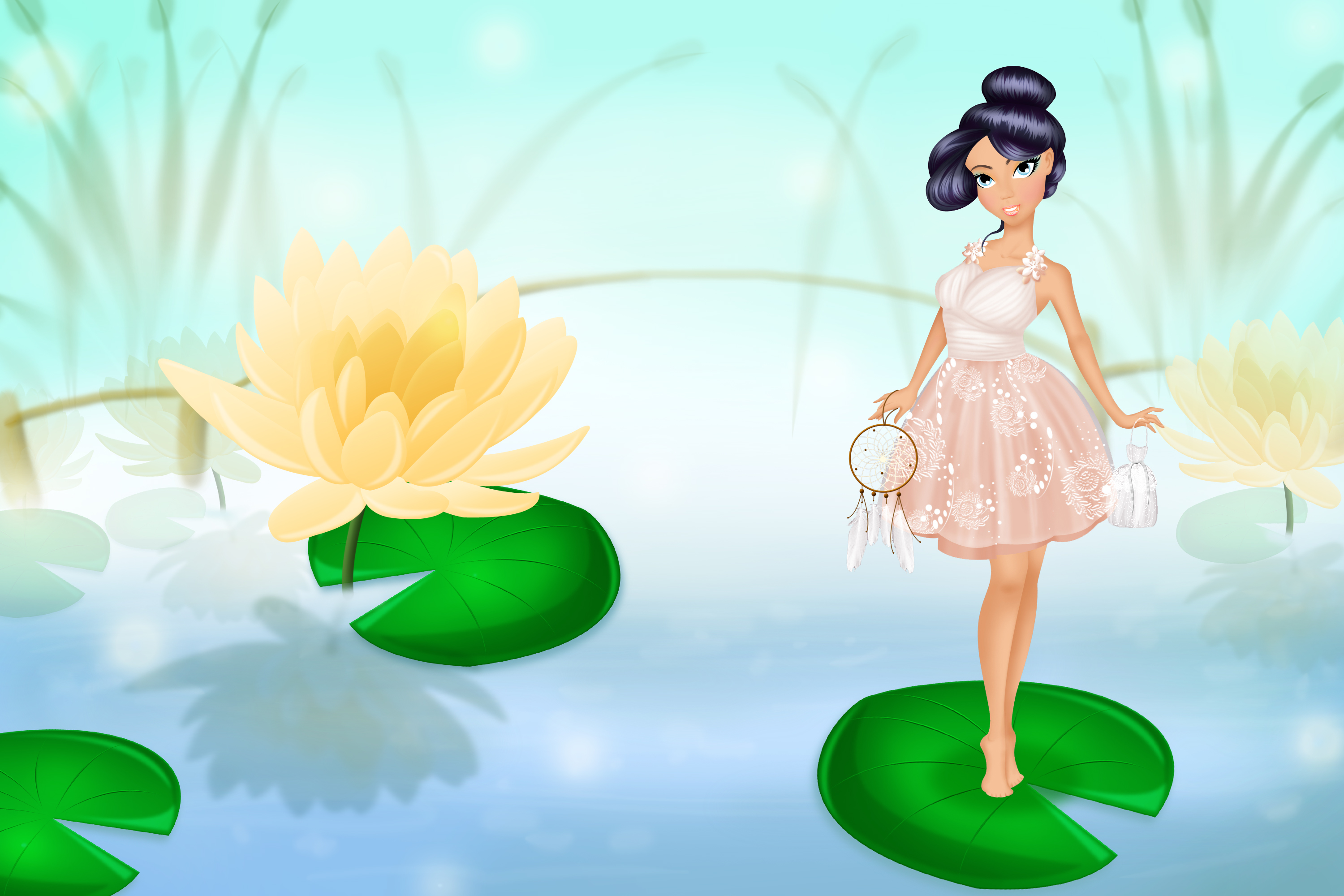 WaterLily Princess Makeover