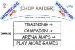 Whiteboard War Chop Raider