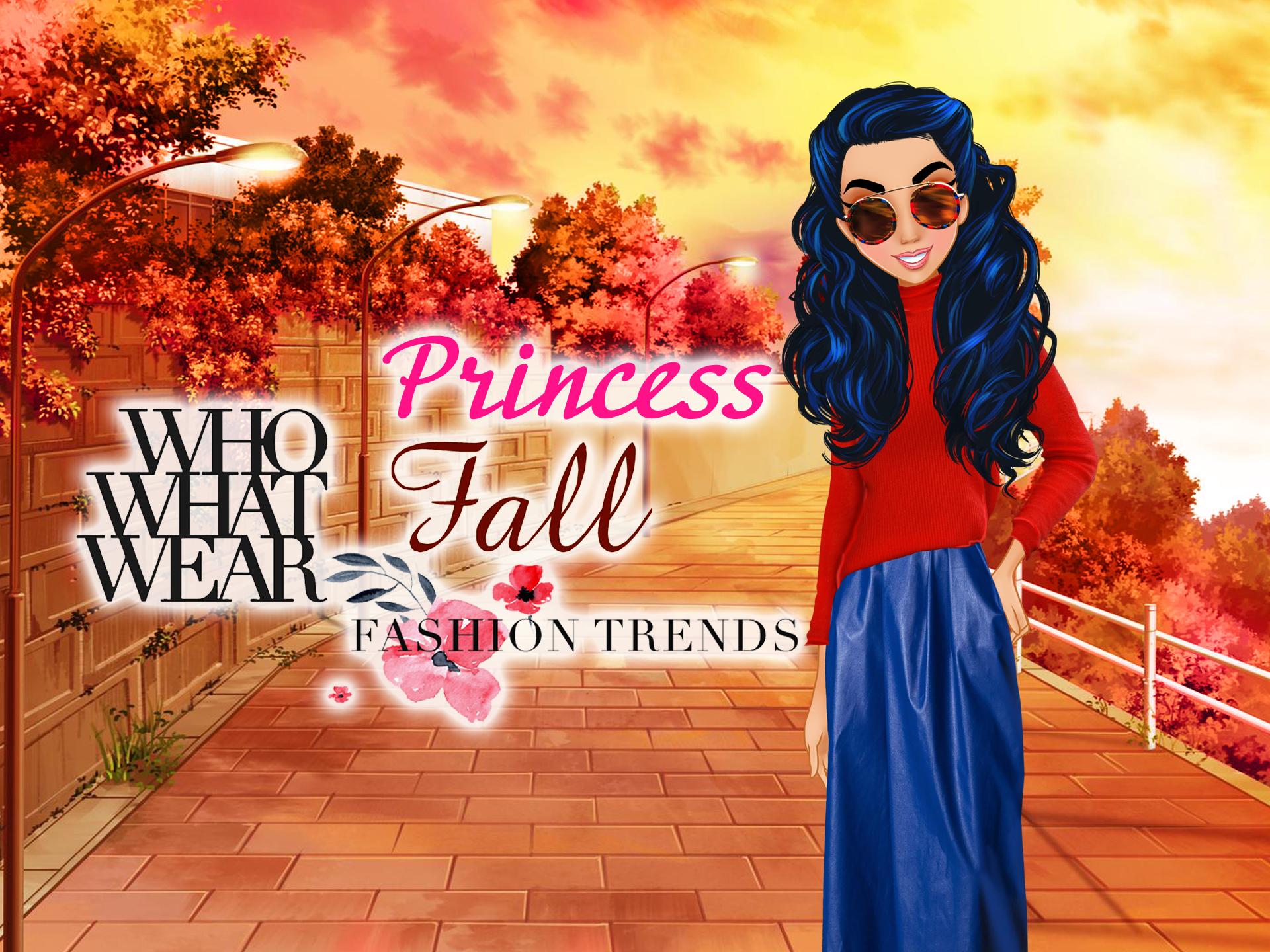 Who What Wear  Princess Fall Fashion Tr