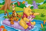 Winnie the Pooh Adventure Jigsaw Puzzle