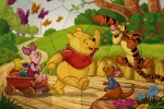 Winnie The Pooh And Friends Puzzle Mania